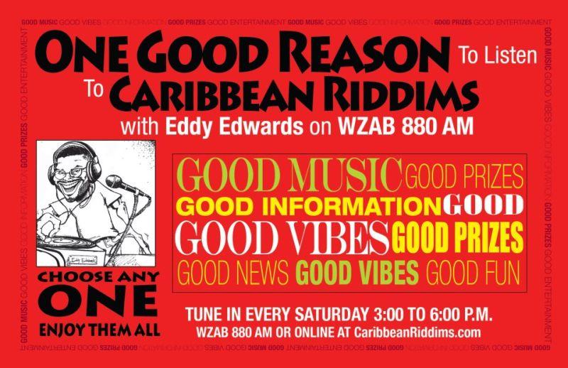 Caribbean Riddims Radio Show Promo