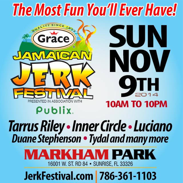 Grace Jamaican Jerk Festival 2014