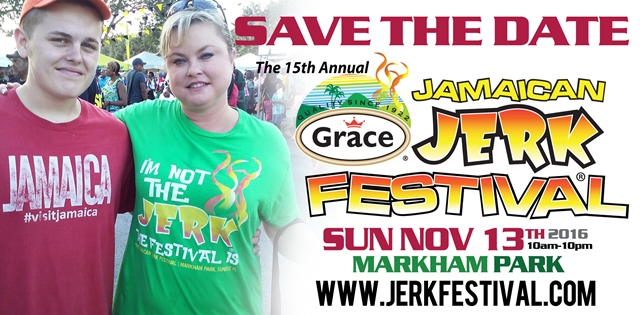 Grace Jamaican Jerk Festival 2016