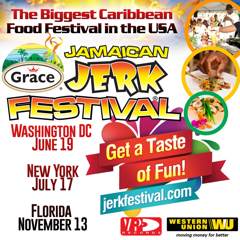 Grace Jamaican Jerk Festivals