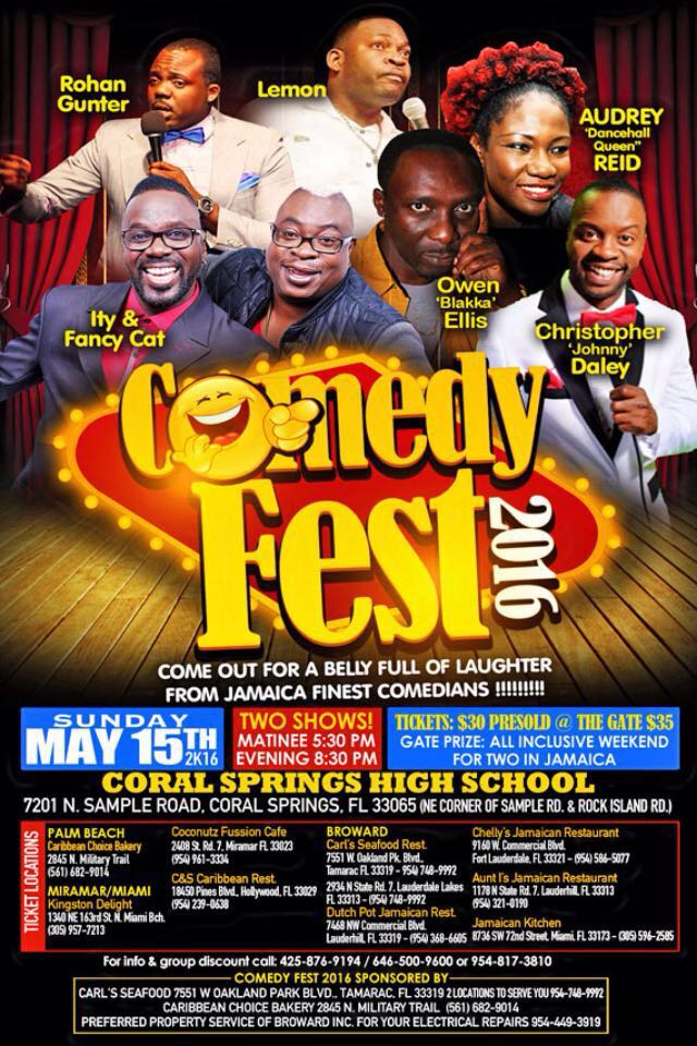 comedy fest 2016
