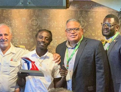 VIRGIN ISLANDERS WHO SAVED CARNIVAL PASSENGER HONORED