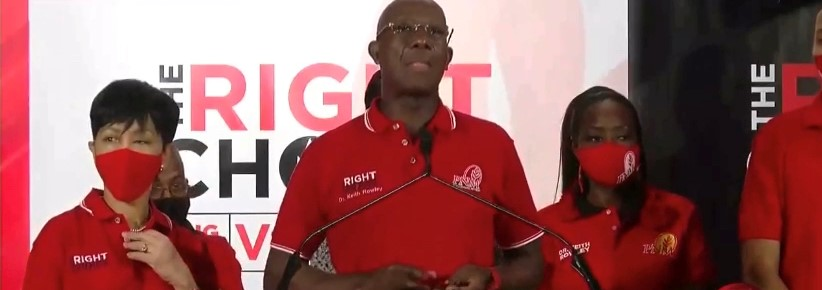 PNM Win Trinidad and Tobago General Elections – Dr. Keith Rowley Back as PM